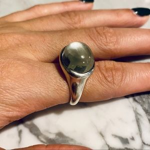 Cabochon Tiffany Ring
